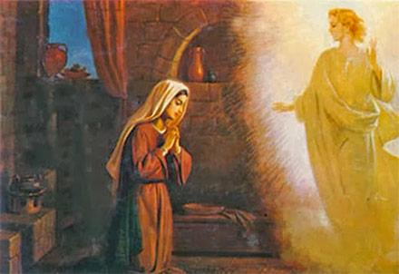 Cuando Jesus Se Hizo Carne En Maria