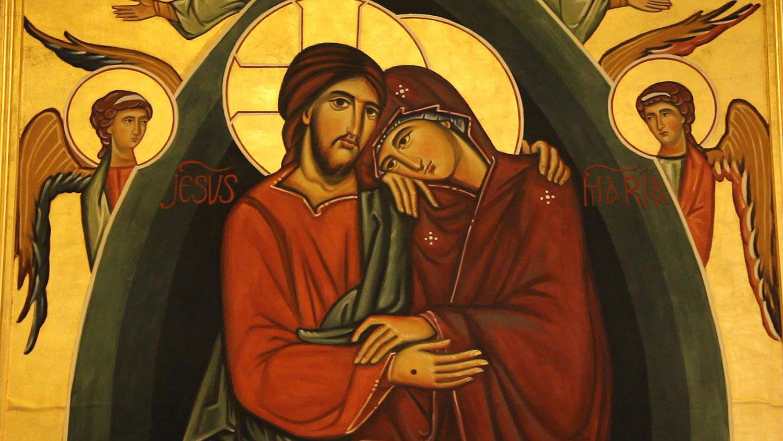 Resultado de imagen para María sostuvo la fé de Pedro y los apóstoles