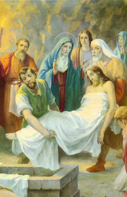 Resultado de imagen de imagenes de jose el q pidio el cuerpo de jesus