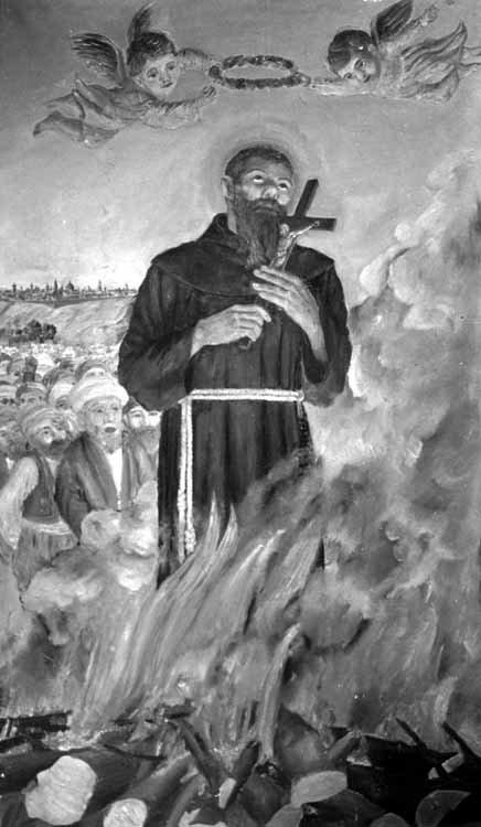 sveti Nikolaj Tavelić in tovariši - frančiškani in mučenci