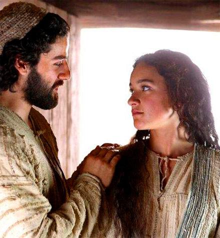 No temas acoge en tu casa a María, tu mujer