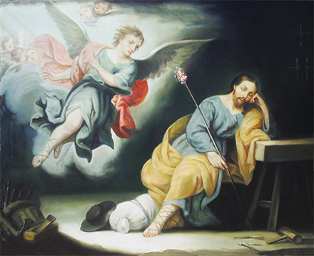 Cuando José se despertó, hizo lo que el ángel del Señor le había mandado