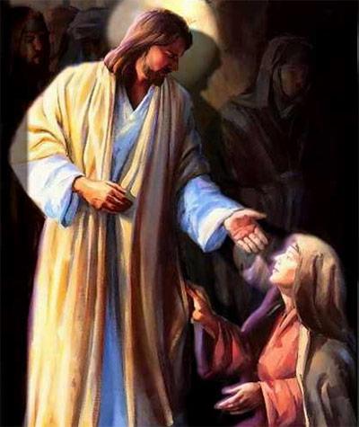 """Jesús salió a su encuentro y les dijo: Alegraos!"""""""